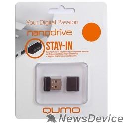 Носитель информации USB 2.0 QUMO 32GB NANO QM32GUD-NANO-W White