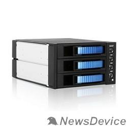 Опция к серверу Procase A3-203-SATA3-BL (синий), Hot-swap корзина 3 SATA3/SAS, 6Gb, 2x5.25, 1xFAN 80x15mm