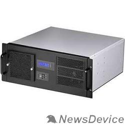 """Корпус Procase GM438-B-0 черный 4U, глубина 380мм, MB 12""""x9.6"""", без Б/П"""
