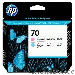 Расходные материалы HP C9405A Печатающая головка №70, Light cyan, Light magenta Photosmart Pro B8850/B9180, Light cyan, Light magenta