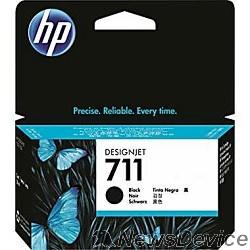 Расходные материалы HP CZ129A Картридж №711, Black  Designjet T120/T520, Black (38ml)