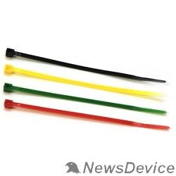 Аксессуар Gembird (NYT-100x2.5С) Стяжки  пластиковые 100 мм х 2,5 мм (набор 4 цвета по 25 шт)