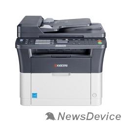 принтер Kyocera FS-1125MFP 1102M73RU0/1102M73RUV A4, 64Mb, LCD, 25стр/мин, лазерное МФУ, факс,  USB2.0, сетевой, ADF,  двуст.печатьн