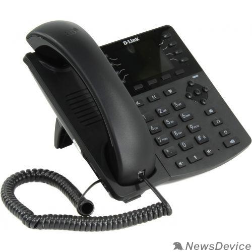 VoIP-телефон D-Link DPH-150SE/F5B IP-телефон с цветным дисплеем, 1 WAN-портом 10/100Base-TX, 1 LAN-портом 10/100Base-TX и поддержкой PoE (адаптер питания в комплект поставки не входит)