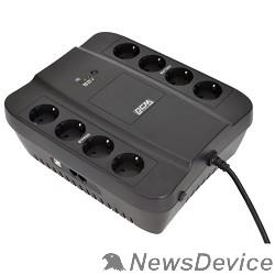 ИБП UPS PowerCom SPD-650U Line-Interactive, 650VA / 390W, Tower, Schuko, USB