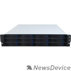 "Корпус Procase ES212-SATA3-B-0 2U 12 SATA3/SAS hotswap HDD, глубина 650мм, MB 12""x13"", без Б/П"
