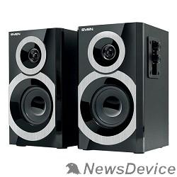Колонки SVEN SPS-619, чёрный акустическая система 2.0, мощность 2х10 Вт(RMS)