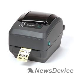 Zebra  принтеры Zebra GK420t  GK42-102520-000 Черный TT Printer, 203 dpi, Euro and UK cord, EPL, ZPLII, USB, Serial, Centronics Parallel