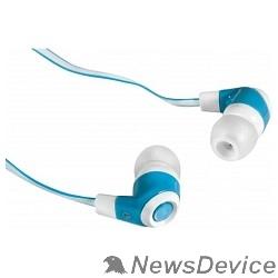 Наушники Defender стерео Trendy-702 белый&голубой 63702