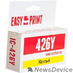 Расходные материалы EasyPrint CLI426Y Картридж (IC-CLI426Y) для Canon PIXMA iP4840/MG5140/MG6140/MX884, желтый, с чипом