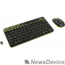 Клавиатура 920-008213 Logitech Клавиатура + мышь MK240 Nano Black-yellow