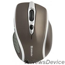 Мышь Defender Safari MM-675 Nano Stone Brown USB 52678 6кнопок,800-1600dpi