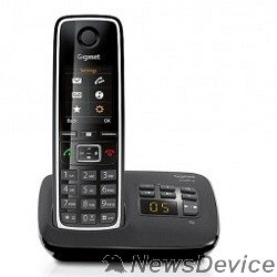 Телефон Gigaset C530A(M) Black Телефон беспроводной (черный) автоответчик