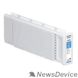 Расходные материалы EPSON C13T694200 EPSON для SC-T3000/T5000/T7000 UltraChrome XD Cyan T694200 (700 мл)  (LFP)