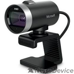 Цифровая камера Microsoft LifeCam Cinema HD  USB 2.0, 1280x720, 7Mpix foto, автофокус, Mic, Black/Silver  H5D-00015