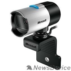 Цифровая камера Microsoft LifeCam Studio for Business  USB 2.0, 1920*1080, 5Mpix foto, автофокус, Mic, Black/Silver  5WH-00002