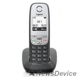 Телефон Gigaset A415 <BLACK > (трубка с ЖК диспл., База) стандарт-DECT