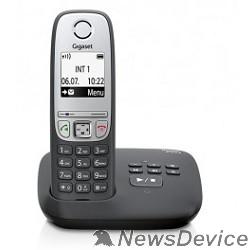 Телефон Gigaset A415A(M)  < Black > (трубка с ЖК диспл., База, Заряд. устр-во) стандарт-DECT, автоответчик