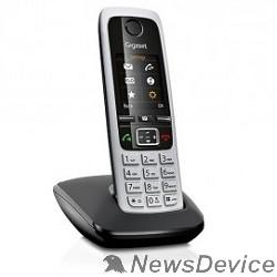 Телефон Gigaset C430 Black Телефон беспроводной (черный/серебристый)