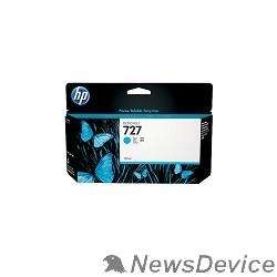 Расходные материалы HP B3P19A Картридж №727, Cyan Designjet T920/T1500, Cyan (130ml)