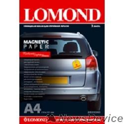 """Бумага LOMOND 2020345 """"Magnetic"""" глянцевая бумага с магнитным слоем,  660 г/м2, A4 (2), 530 мкм (LMT53)"""