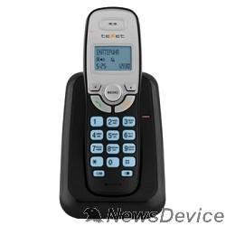 Телефон TEXET TX-D6905A  черный (громкая связь,телефонная книга на 50 имен и номеров, определитель номера, будильник)