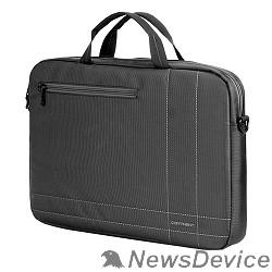 Сумка для ноутбука Сумка Continent  CC-201 GA(нейлон, серый, 15,6'')