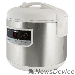 Мультиварка MYSTERY MCM-1015 Мультиварка 700 Вт, 5 л, 7 программ, металлик/ белый