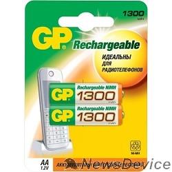 Аккумулятор GP 130AAHC-2DECRC2 20/200 (2шт. в уп-ке)  аккумулятор