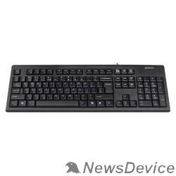 Клавиатура Клавиатура A-4Tech KR-83 black USB, проводная USB, 104 клавиши 533406