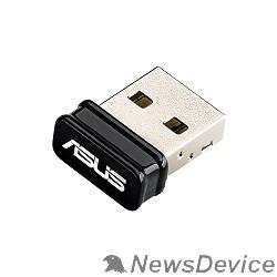 Сетевое оборудование ASUS USB-N10 NANO USB2.0 802.11n 150Mbps nano size