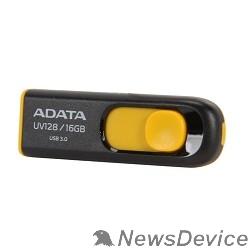 Носитель информации A-DATA Flash Drive 16Gb UV128 AUV128-16G-RBY USB3.0, Black-Yellow
