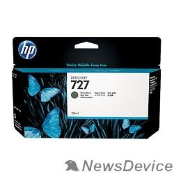 Расходные материалы HP B3P22A Картридж №727, Matte Black Designjet T920/T1500, Matte black (130ml)