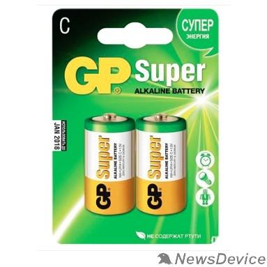 Батарейки GP 14A-2CR2 (SUPER) (2 шт. в упаковке) 02674