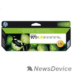Расходные материалы HP CN628AE Картридж №971XL, Yellow Officejet Pro X451dw, X476dw, X551dw, X576dw, Yellow