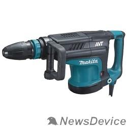 Отбойный молоток Makita HM1213C Молоток отбойный SDS-max HM1213C 1510Вт,25.5Дж,950-1900у\м,10.3кг,чем,АВТ,м\функц бок рукоятка,плавный пуск