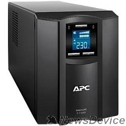 ИБП APC Smart-UPS C 1500VA SMC1500I Line-Interactive, Tower, IEC, LCD, USB