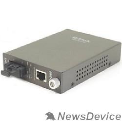 Сетевое оборудование D-Link DMC-530SC/D7A Медиаконвертер с 1 портом 10/100Base-TX и 1 портом 100Base-FX с разъемом SC для одномодового оптического кабеля (до 30 км)