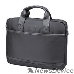 Сумка для ноутбука Сумка Continent CC-045 Grey 15,6-16'', серый, нейлон/пвх
