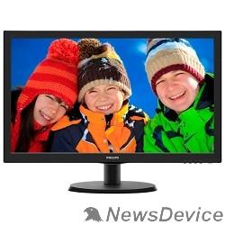 """Монитор LCD PHILIPS 21.5"""" 223V5LSB (10/62) черный TN 1920x1080 5ms 170°/160° 16:9 10M:1 250cd D-Sub"""