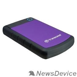 "Носитель информации Transcend Portable HDD 2Tb StoreJet TS2TSJ25H3P USB 3.0, 2.5"", violet"