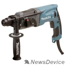 Перфоратор Makita HR2470 Перфоратор SDS+ HR2470 780Вт,3реж,2.7Дж,0-4500у\м,2.6кг,чем,зашита уг щеток от пыли