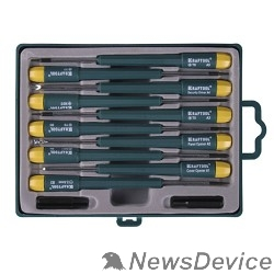 Наборы отверток KRAFTOOL (25616-H12) Набор X-Telecom Набор отверток для точных работ и телекоммуникационного оборудования 12 предметов.