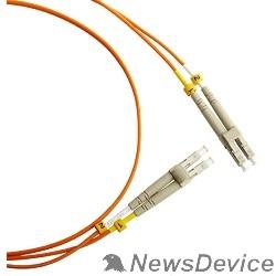 Патч-корд Hyperline FC-D2-50-LC/PR-LC/PR-H-3M-LSZH-OR (FC-50-LC-LC-PC-3M) Патч-корд волоконно-оптический (шнур) MM 50/125, LC-LC, 2.0 мм, duplex, LSZH, 3 м