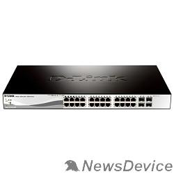 Сетевое оборудование D-Link DGS-1210-28/ME/A2B Управляемый коммутатор 2 уровня с 24 портами 10/100/1000Base-T и 4 портами 1000Base-X SFP