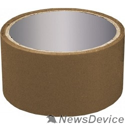 Скотч  Клейкая лента упаковочная 48мм*45м, 40 мкр темная, коричневая - фото 521726