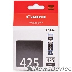 Расходные материалы Canon PGI-425Bk PGBK 4532B007  TwinPack Картридж для Pixma IP4840/MG5140/MG5240/MG6140/MG8140, Черный, 2х344 стр.