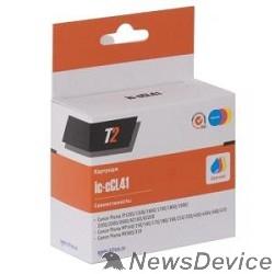 Расходные материалы T2 CL-41 Картридж (IC-CCL41) для Canon Pixma iP1200/1800/1900/2200/6210D/MP140/210/MX300, цветной