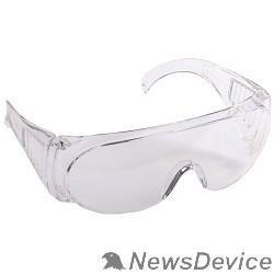 """Защитные очки, Маски для сварки, Защитные щитки STAYER Очки """"STANDARD"""" защитные, поликарбонатная монолинза с боковой вентиляцией, прозрачные 11041"""