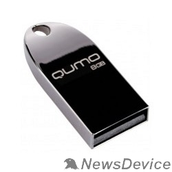 Носитель информации USB 2.0 QUMO 8GB Cosmos QM8GUD-Cos-d Dark